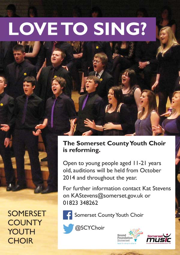 Somerset Youth Choir Audition Workshops