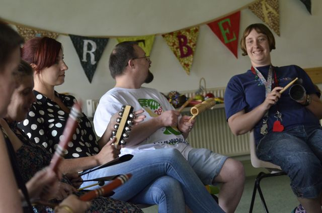 The AllStars project – musical inclusion in Somerset.