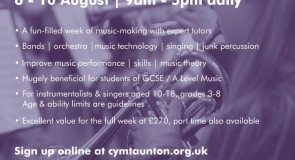 CYMT Summer Music Course